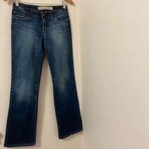 Zara TRF 100% denim. Bootcut. Size: 4 US.